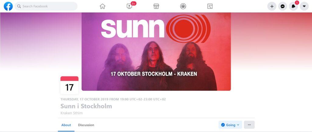 SUNN Event FB